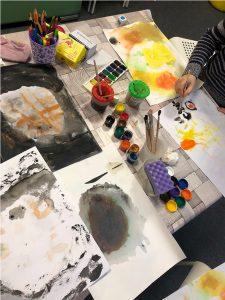 Занятия арт-терапией
